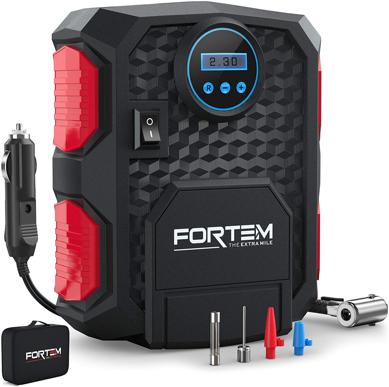 FORTEM Digital Tire Inflator for Cars