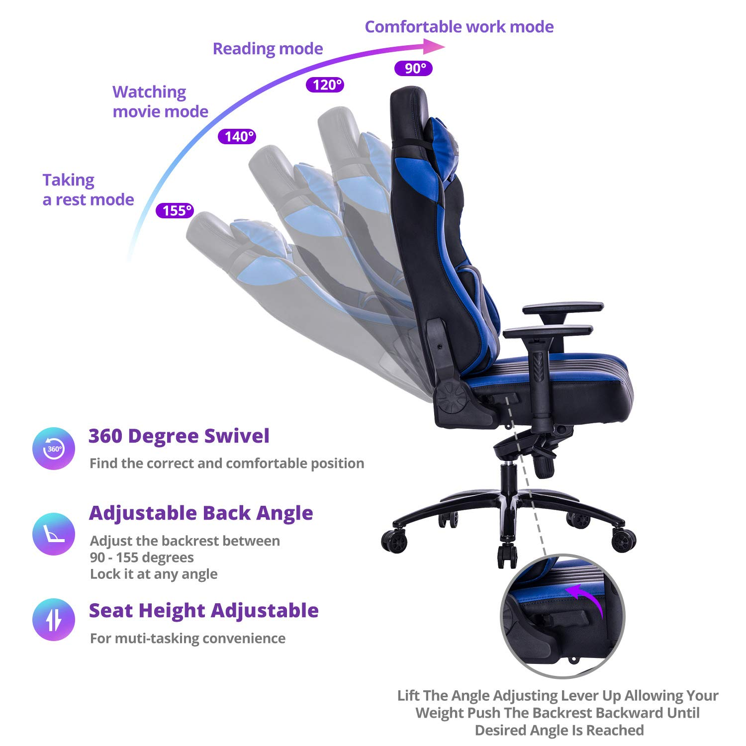 VON RACER Gaming Chair