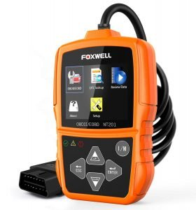 Foxwell NT201 Auto OBD2 Scanner