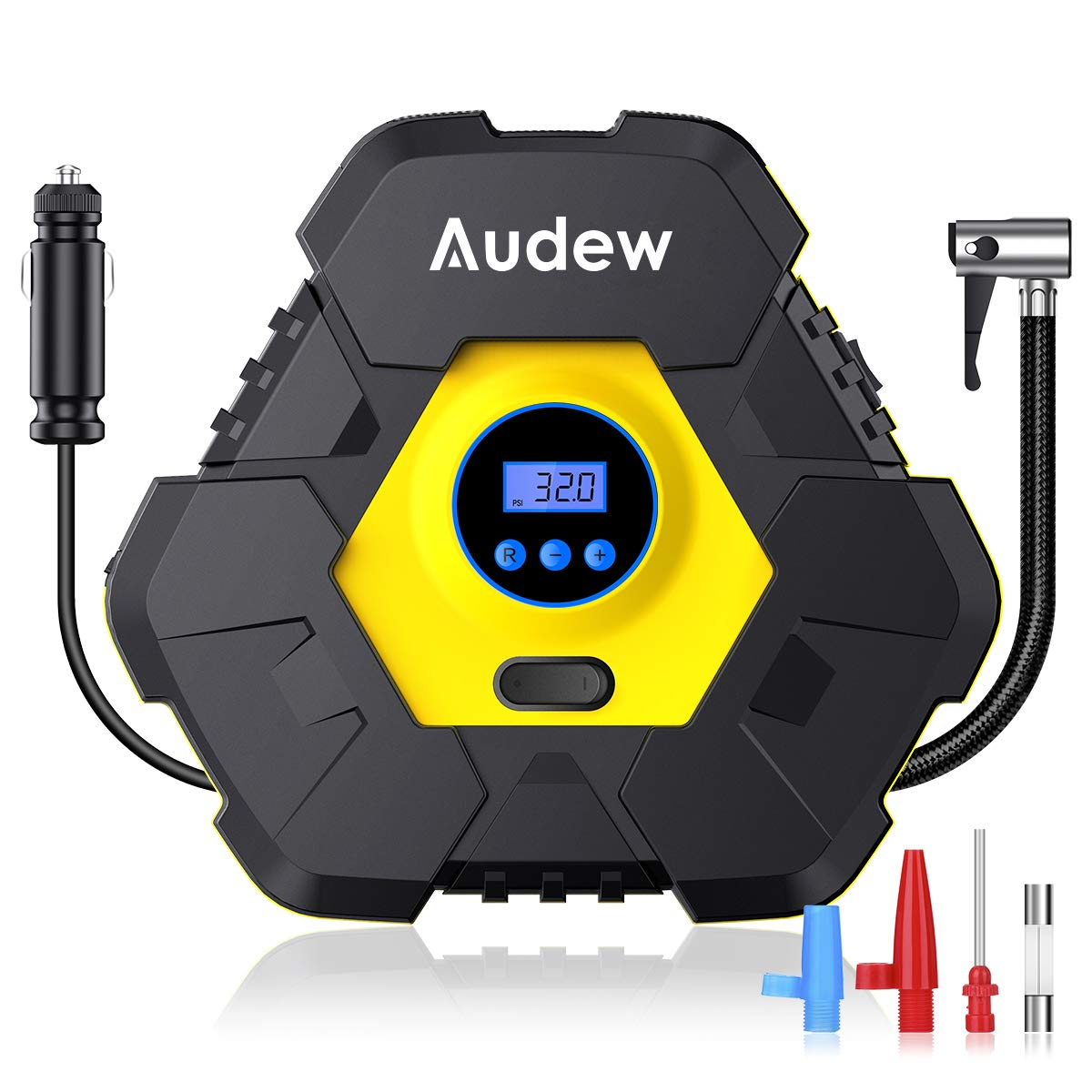 Audew Upgraded Portable Air Compressor