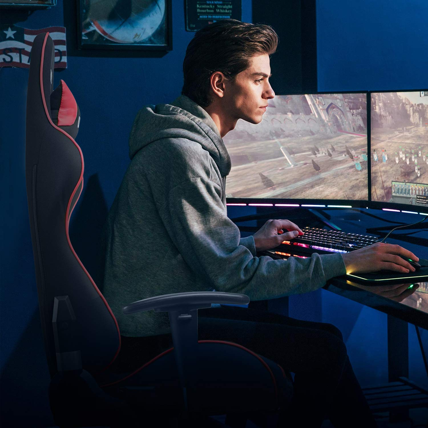 GTPOFFICE Gaming Chair in Use