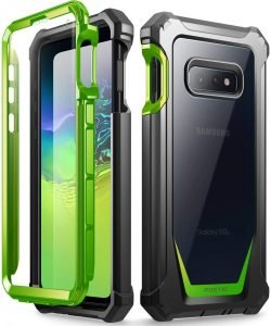 Galaxy S10e Rugged Clear Case, Poetic