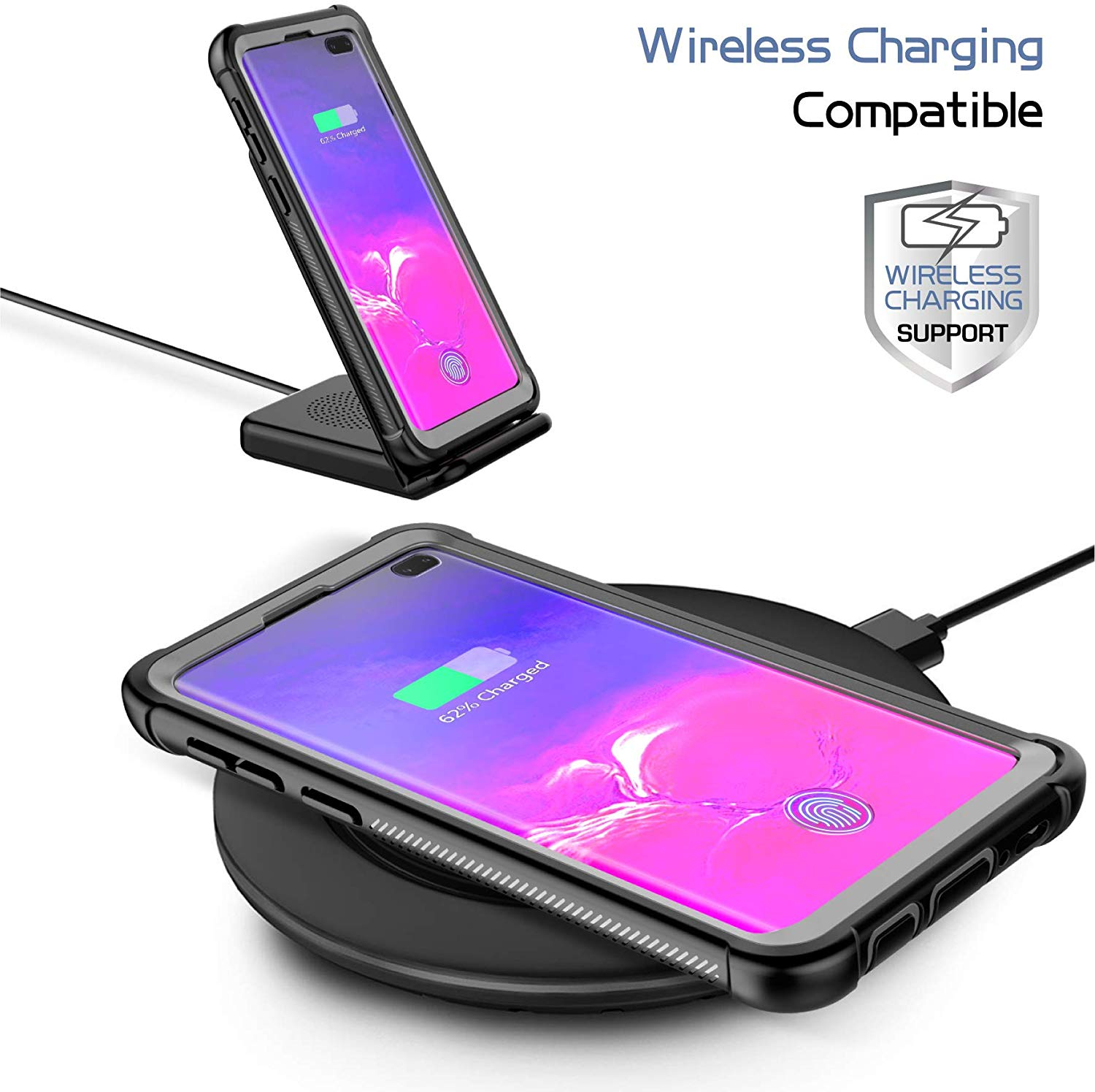 Samsung Galaxy S10 Plus Case wireless charging capable