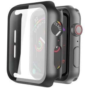 Misxi Black Hard Case Compatible with Apple Watch