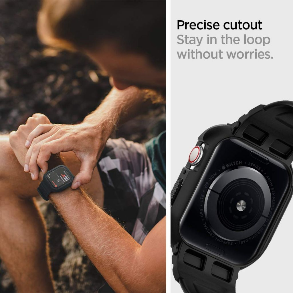 Spigen Rugged Armor Pro Designed for Apple Watch Case