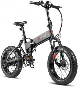eAhora Fat Tire Folding Electric Bike