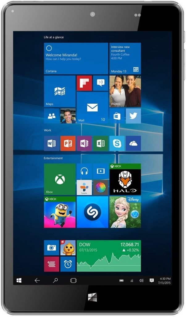 NuVision 8-inch Full HD Tablet